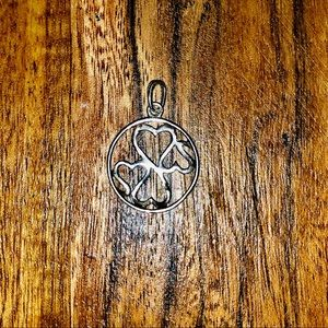 Kay Jewelers Jewelry - Open Heart Family Diamond Pendent